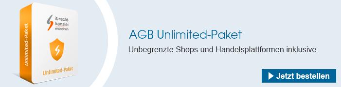 AGB Unlimited-Paket bestellen